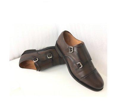 Мужские Фирменные Кожаные Туфли MASSIMO DUTTI Испания 45 размер