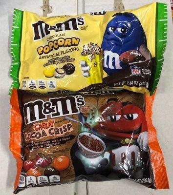 Драже M&M's Creepy Cocoa Crisp Шоколадная конфета Безглютеновые Драже M&M's Creepy Cocoa Crisp 22