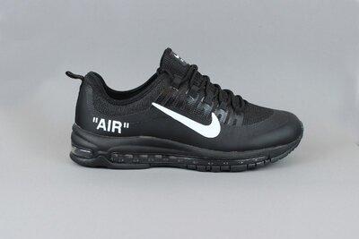 Крутые мужские кроссовки Nike air max 97 чёрные распродажа последних размеров -70 %