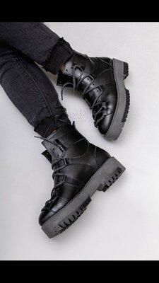 Зимние ботинки натуральная кожа с 36 по 40 размеры