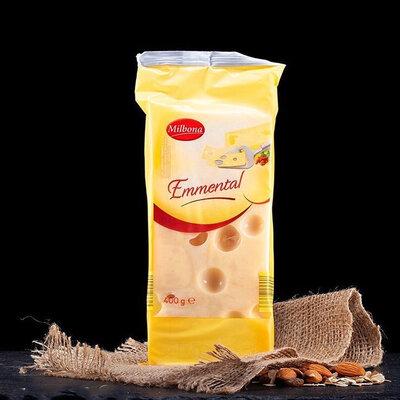 Продано: Сыр Emmental от Milbona 400 г