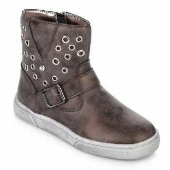 Осенние ботинки утеплённые для девочки Lapsi Ариал с 28 по 34 размеры