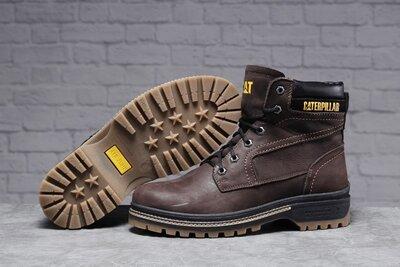 30545 Зимние мужские ботинки CAT Caterpilar Anti-Glide мех