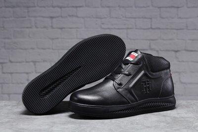 31522 Зимние мужские ботинки Tommy Hilfiger Denim мех