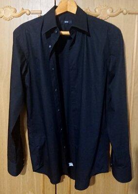 Рубашка Hugo Boss , Turkey , хлопок, 42 размер