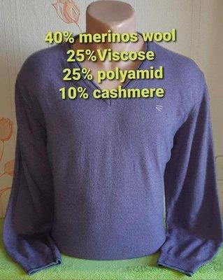 Стильный сиреневый пуловер melaverde, made in italy, молниеносная отправка