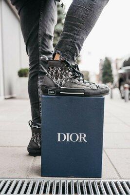 Кеды Dior B23 HIGH-TOP SNEAKERS