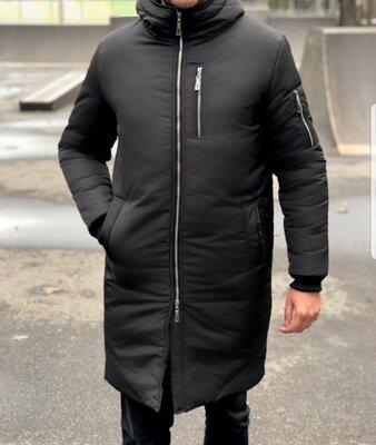 Парка мужская куртка удлиненная