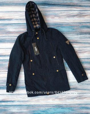 Мужская демисезонная куртка парка, см.замеры в описании товара