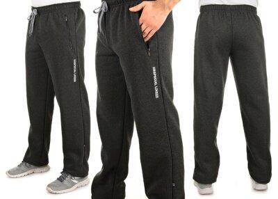 Теплые мужские спортивные штаны