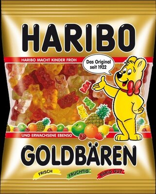 Конфеты жевательные Haribo Золотой Мишка 200г для детей и взрослых
