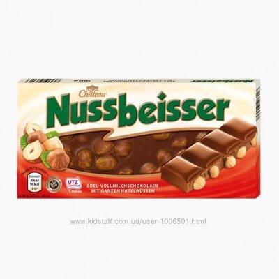 Продано: Шоколад Nussbeisser с цельным лесным орехом 100гр. Германия