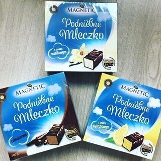 Конфеты Magnetic Podniebne Mleczko Czekoladowe380 г. Польша