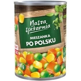 Nasza Spizarnia Mieszanka овощная нарезка в маринаде, 400 гр.