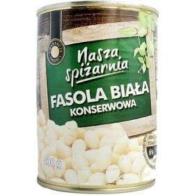 Nasza Spizarnia Fasola Biala консервированная белая фасоль, 400 гр.