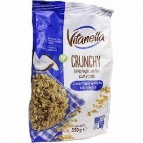 Продано: Vitanella Crunchy Kokosowy мюсли с кокосовыми чипсами, 350 гр.