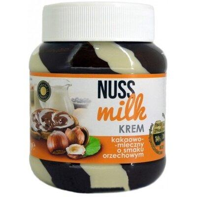 Nuss Milk какао-молочная паста с ореховым вкусом