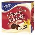 Шоколадные конфеты E.Wedel Ptasie Mleczco в ассортименте 380г