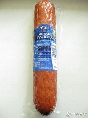 Колбаса ветчинно- рубленая Kraina Wedlin 600 грамм