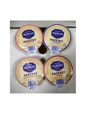Продано: Паштет Kraina Wedlin в ассортименте , 131 гр