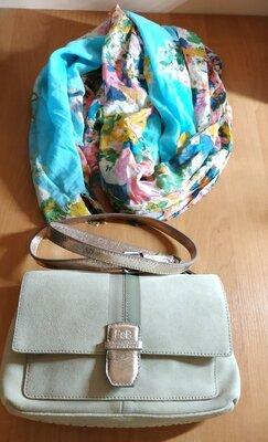 Кожаная брендовая сумка от FREDsBRUDER - оригинал