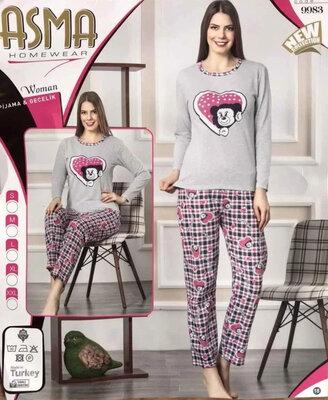 Пижама женская утепленная р. s-2xl Турция
