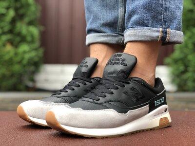 Красивые мужские кроссовки 2020 New Balance, черные, р. 41-46, 005-9904