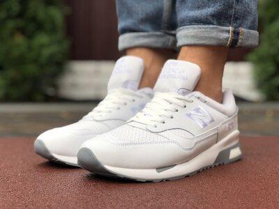 Спортивные мужские кроссовки 2020 New Balance белые, р. 41-46, 005-9911