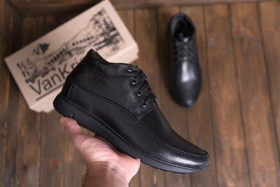 Зимние мужские ботинки кожаные зимние мужские ботинки