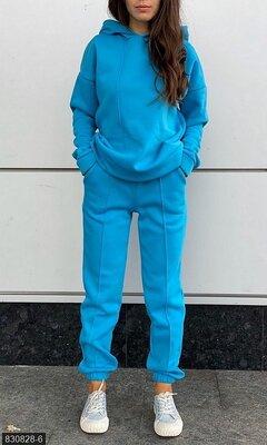 Спортивный тёплый костюм с начесом