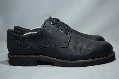 Ecco Hydromax туфли ботинки мужские кожаные водонепроницаемые. Оригинал. 44 р./29.5 см.