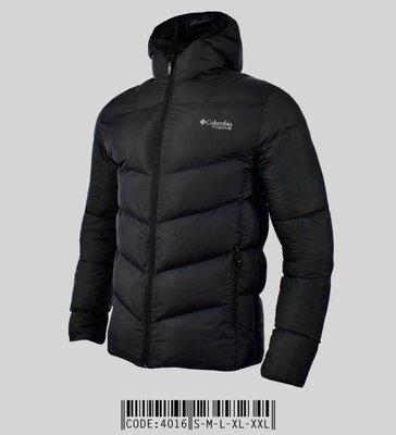 Стильная куртка зимняя с капюшоном на синтепоне 200, черная, светло серая