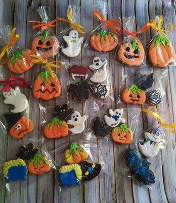 Пряники на Хеллоуин в наличии