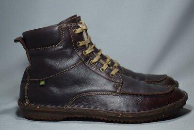 El Naturalista Recyclus ботинки мужские кожаные. Испания. Оригинал. 44 р./29 см.