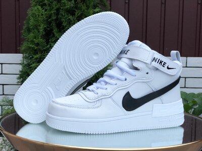 Зимние женские кроссовки Nike Air Force 1 Shadow, белые