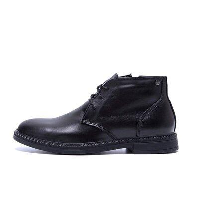 Мужские зимние кожаные ботинки VanKristi VK 668