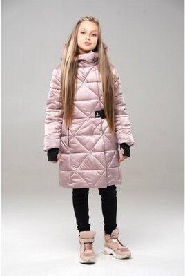 Хит продаж, зимнее пальто для девочек 128-158 см.