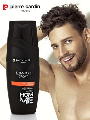 Pierre cardin shampoo 400 ml - sport шампунь