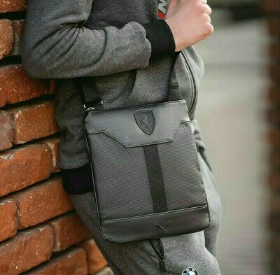 Продано: Мужская сумка через плечо, сумка планшетка, Барсетка