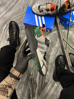 Adidas Nite Jogger Sesame Black Green