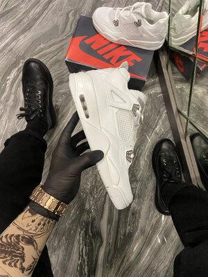 Nike Air Jordan 4 Retro Triple White