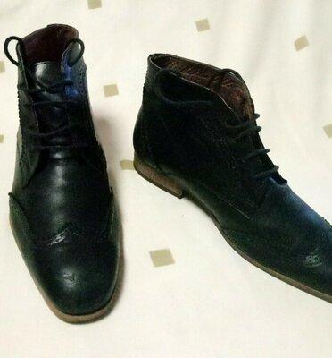 Броги ботинки Sasha Fabiani кожа, 43