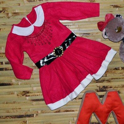 Акция Новогоднее платье на девочку Турция