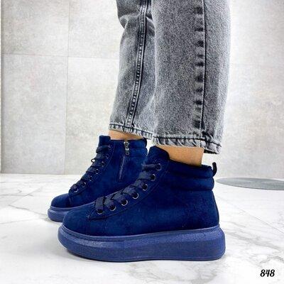 Ботинки женские хайтопы
