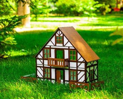 Кукольный домик для LOL в Баварском стиле с мебелью и текстилем