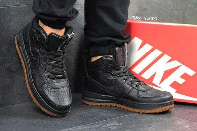 Высокие кожаные кроссовки Nike Lunar Force 1 Индонезия