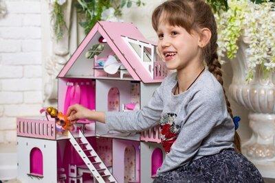 Кукольный домик для Лол с мебелью и текстилем. Топ продаж Будиночок для ляльок LOL