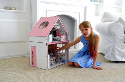 Кукольный Загородный домик для Барби. Цена от производителя