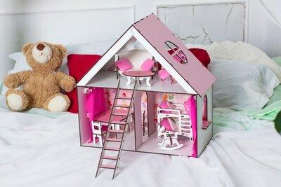 Домик для кукол LOL Sylvanian с мебелью. Ляльковий будиночок для лол