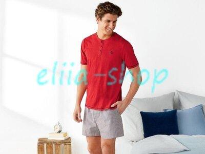 Мужская пижама с шортами , домашний костюм livergy германия распродажа